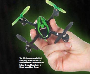 Traxxas QR-1 Micro Quadcopter [VIDEO]