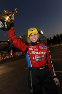Courtney with trophy