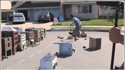 The Cliche RC Action Chase [Video]