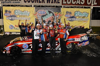 Traxxas Driver Courtney Force Takes Home The Win At The NHRA Winternationals