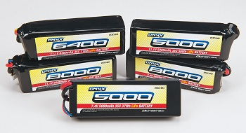 Duratrax 35C LiPo Batteries