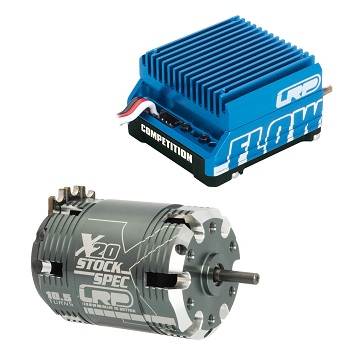 LRP Flow WorksTeam / Competition ESC & X20 Brushless Motor Combos