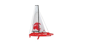 Thunder Tiger Volans 1M Trimaran Racing Yacht