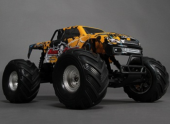 HobbyKing 1/10 Quanum Skull Crusher 2WD Brushless Monster Truck
