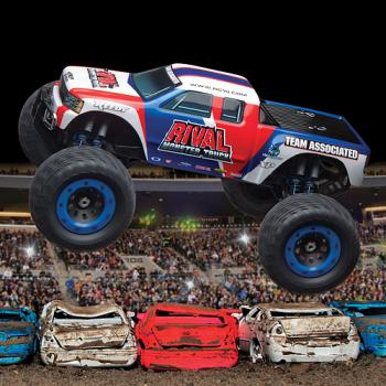 Team Associated Qualifier Series RIVAL Monster Truck (VIDEO ADDED)