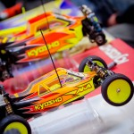 Kyosho's Lucas Stanford's weapons of choice.