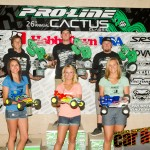 2012 Modified Truck podium: Dustin Evans, Ryan Cavalieri, Ryan Maifield