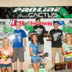 2012 4WD Modified Buggy podium: Joern Neumann, Ryan Maifield, Ryan Cavalieri
