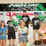 2012 2WD Modified Buggy podium: Dakotah Phend, Ryan Maifield, Ryan Cavalieri