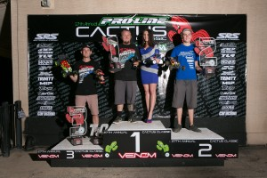 Modified 4WD Buggy Podium