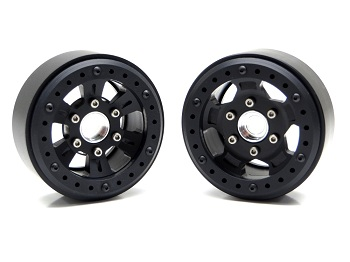 Gear Head RC 1.9 Hammer And Sixer Beadlock Wheels