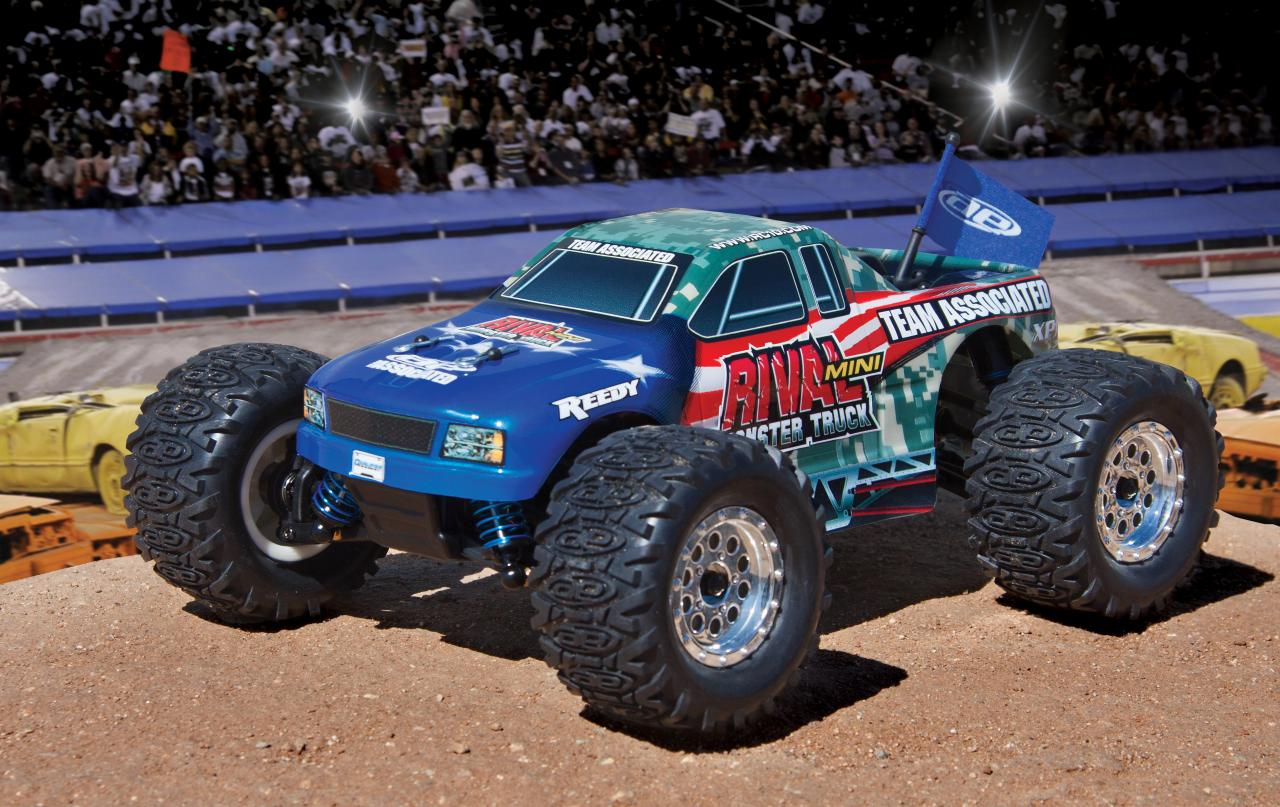 NEW! Qualifier Series Rival Mini Monster Truck!