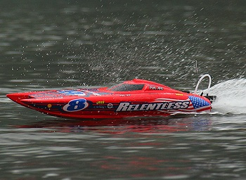 HobbyKing ARR Quanum Relentless Brushless Catamaran Racing Boat