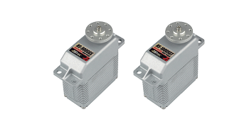 Hitec HS-900SGS And HS-1000SGT Solid-Aluminum Super Servos!
