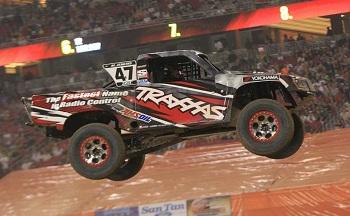Traxxas Driver Rob MacCachren Wins Inaugural Stadium Super Truck Race