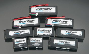 TrakPower LiPo Hard Case Batteries