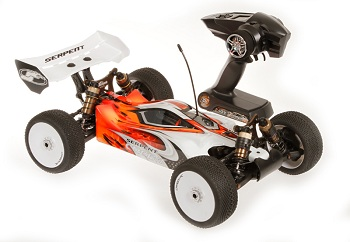 Serpent's Ready To Strike Cobra 1/8 Electric Buggy