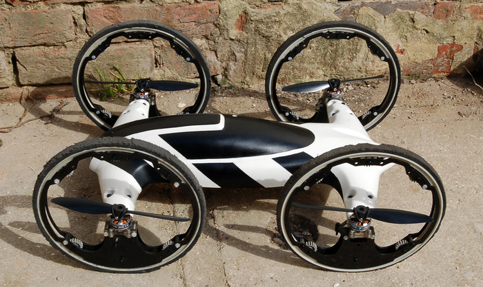 "Video Of The Week: ""B"" QuadCopter/Car Hybrid"