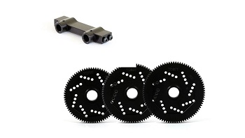 MAY 15 NEW PRODUCTS: Team Durango Precision Spur Gears, Axial SCX10 Option Parts From AJS Machine