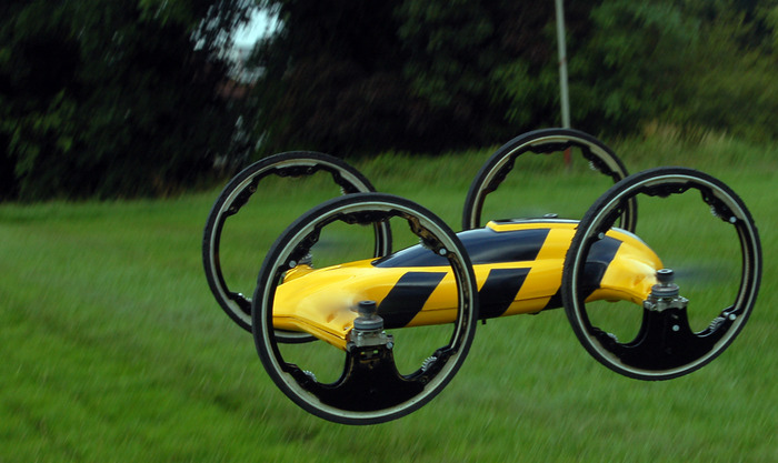 """B"" QuadCopter/Car Hybrid"
