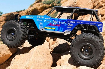 Axial's RTR Wraith Gets The Poison Spyder Treatment (Video Added)