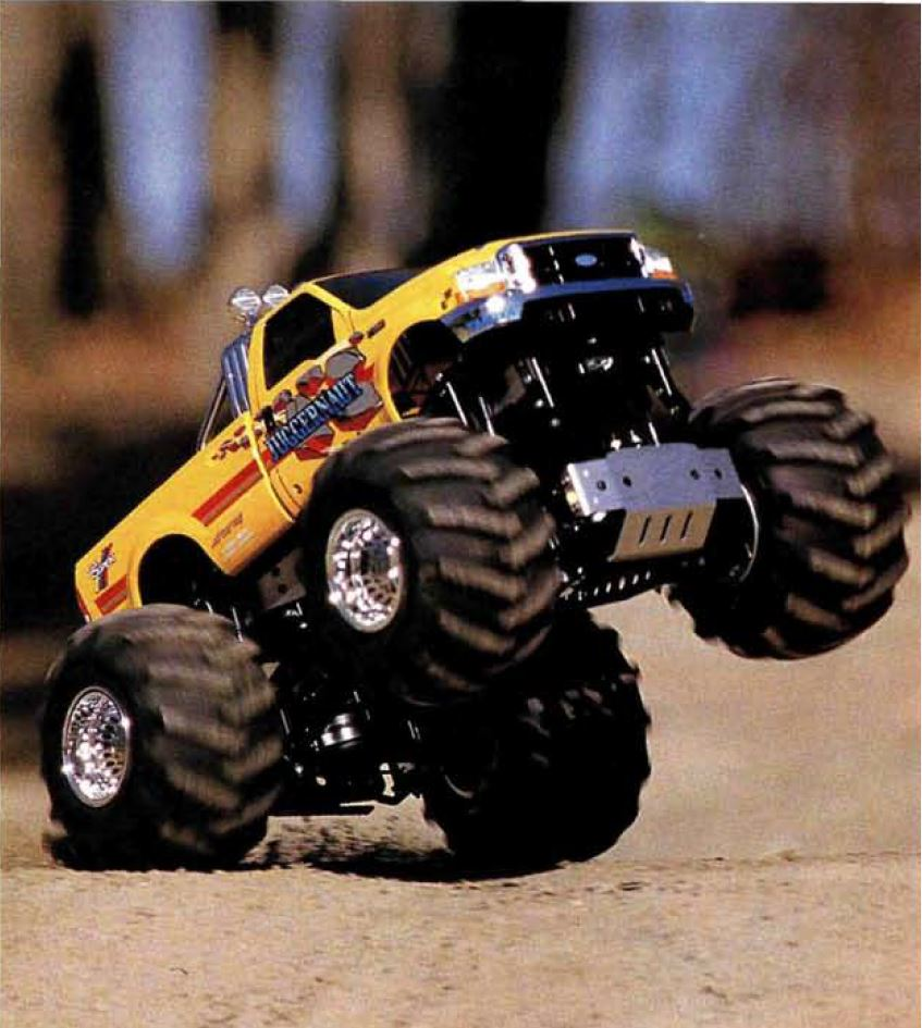 A Quick History of Tamiya's Solid-Axle Monster Trucks