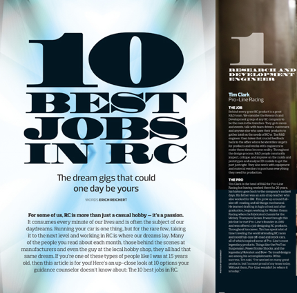 10 Best Jobs In RC [June Issue – Preview]