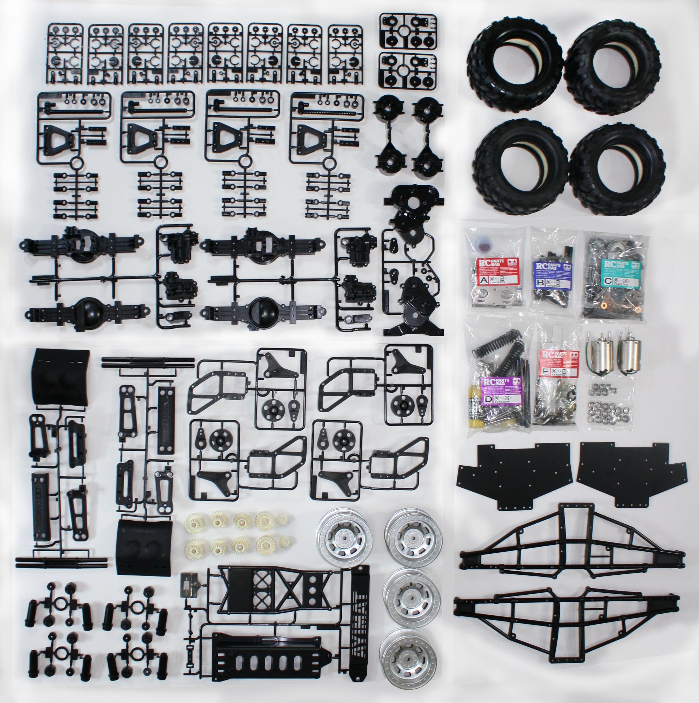 Tamiya TXT-2 Agrios Build
