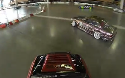 Tandem R/C Drifting – GoPro First Person POV [Video]