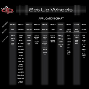 DE Racing setup chart