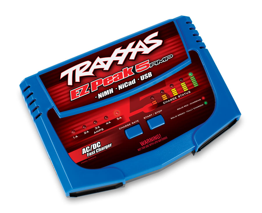 Traxxas announces new 5-amp NiMH charger