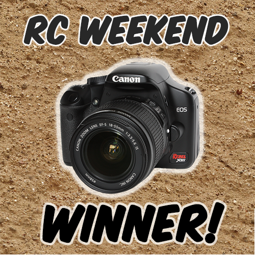 RC Weekend Winner: Daniel Denato!