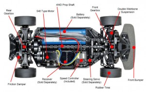 TT-02 Chassis