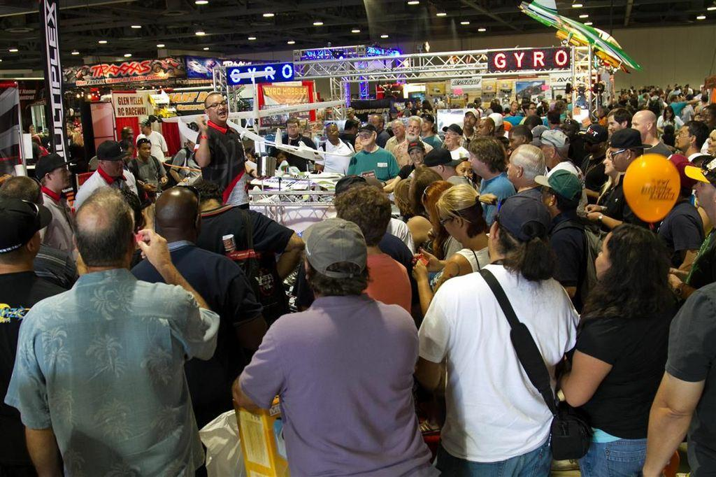 Curious crowds packed every walkway and exhibit at the show, checking out new products and talking to industry celebrities from every facet of the RC hobby.