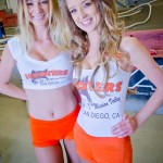 Hooters Girls make the best trophy girls.