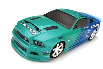 HPI RTR Justin Pawlak Falken Tire Ford Mustang Micro RS4