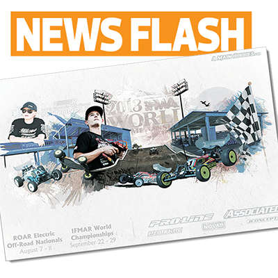 A-Main offers free IFMAR Worlds posters to RC Car Action readers
