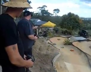 Video: The Best Backyard RC Track In Australia