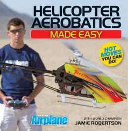 Available Now! Helicopter Aerobatics Made Easy DVD