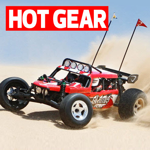 RED HOT! Vaterra Glamis Fear Sand Rail