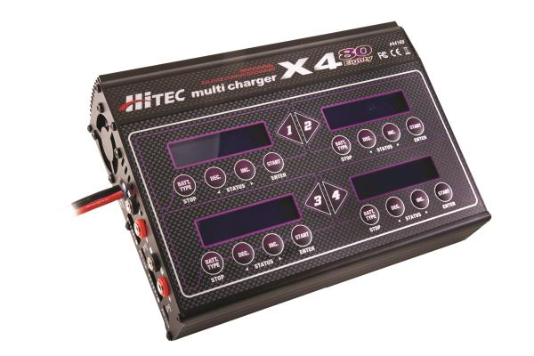 performance proven Hitec X480 Charger