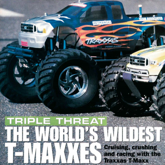 Flashback Friday: World's Wildest T-Maxxes – November 2000