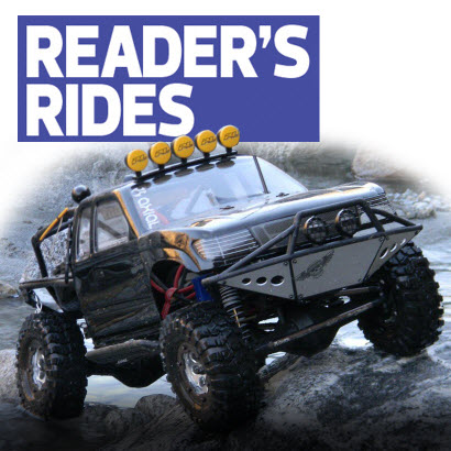 Reader's Ride: Jammy Weaver's Axial SCX-10 Trail Honcho
