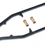 Optional graphite chassis stiffeners will be available along with some other option parts.