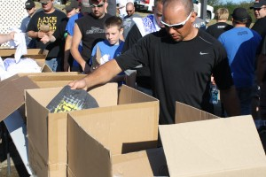 Each racer received a free JConcepts events t-shirt.