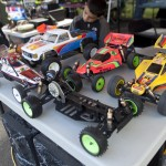 Not only do racers bring their vehicles to race, they also put out stuff to sell making the Vonats one of the coolest races AND swap meets in RC.