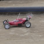 That, my friends, is a mid-motor Kyosho Ultima straight from the 90s!