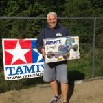 Rob Fumire was the lucky winner of this Tamiya Avante re-release!