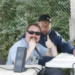 Announcer Jay Kennedy and race director Scott Murphy did an awesome job running the race all weekend.
