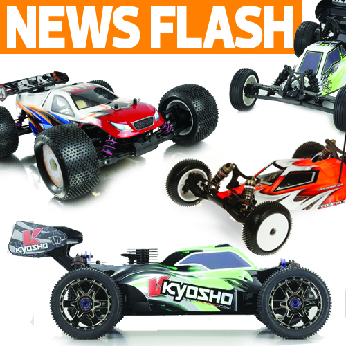 Serpent 2WD Buggy Sneak Peek, Kyosho & XRAY Announce New Models